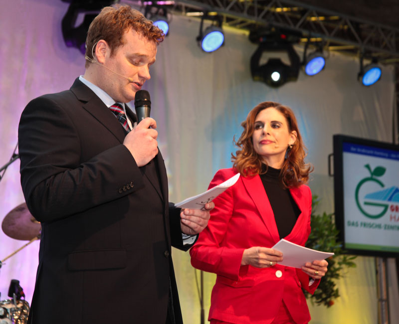 duo abend moderator moderatorin buehne show muenchen hamburg