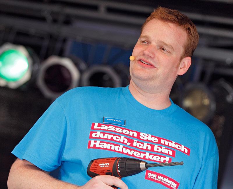 Moderator Muenchen Hamburg Event Messe TV Bau