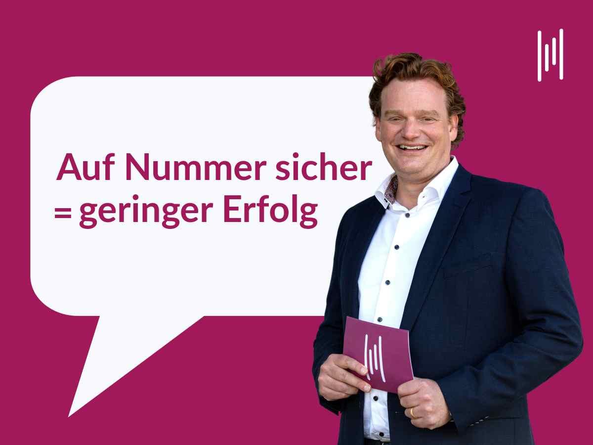 Kommunikationstrainer und Moderator Henning Harfst plant Veranstaltungen und Formate